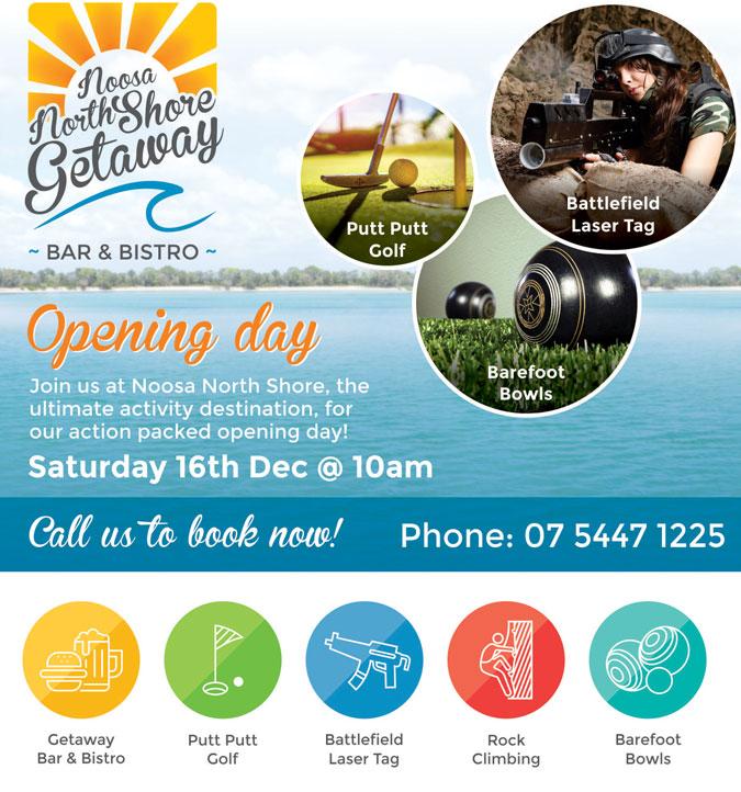 Noosa North Shore Opening Day Activities