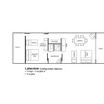 Lakeview 2 Bedroom Layout