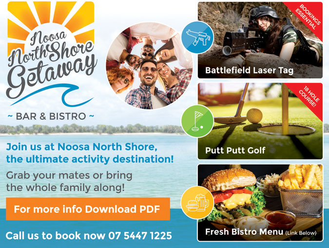 Noosa North Shore Activity Promo